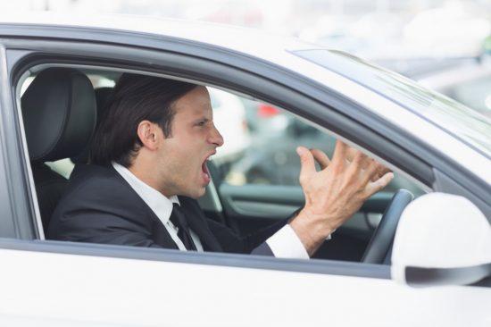 車間距離を詰める人