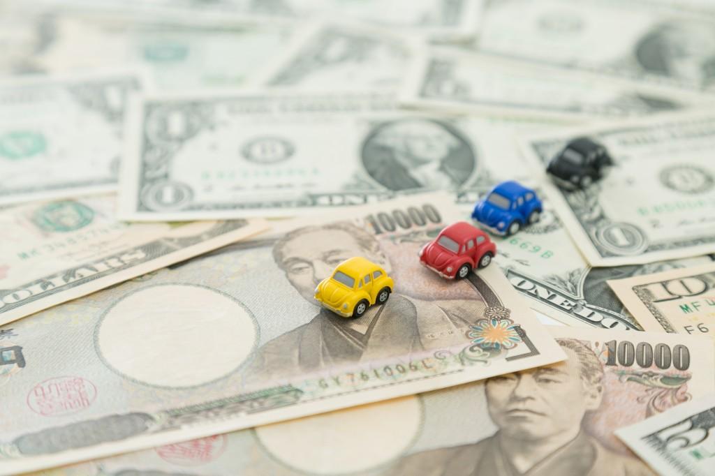 中古車輸出による売上