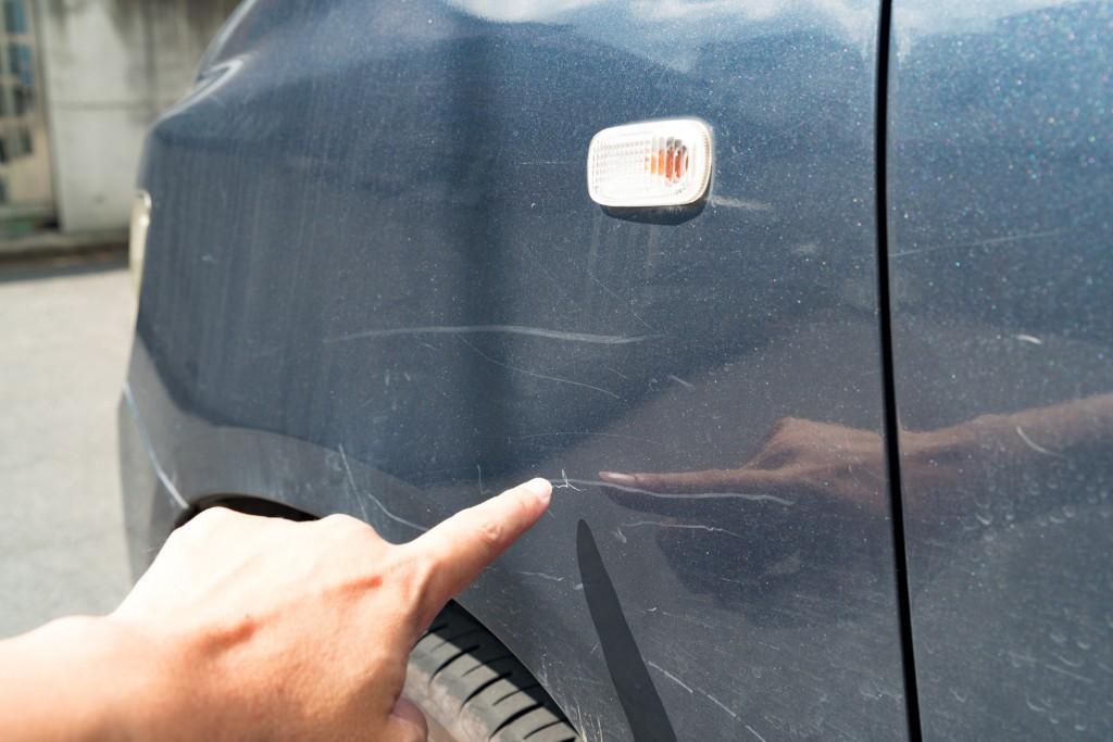 """車を売る時の""""傷""""の加点・減点基準"""