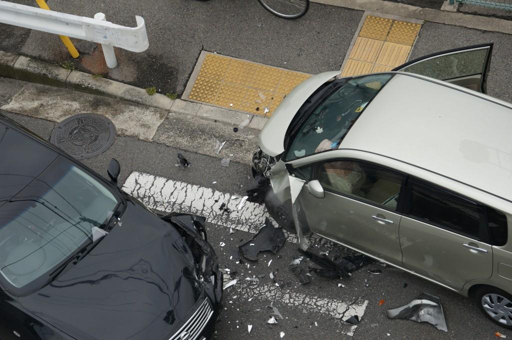 残価設定ローンの車での交通事故