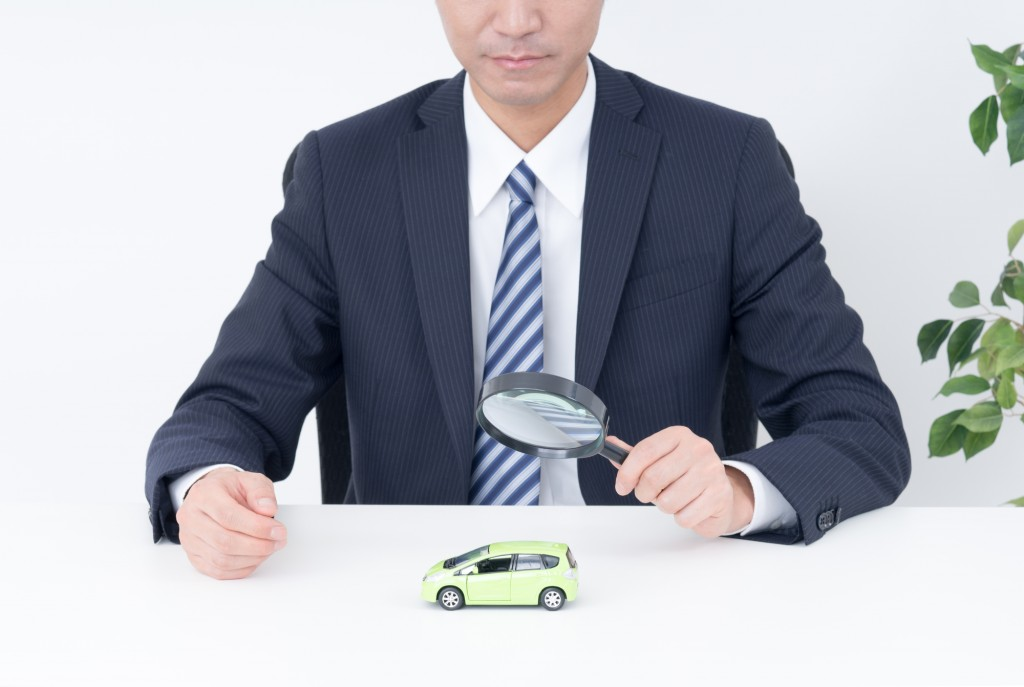 中古車の査定