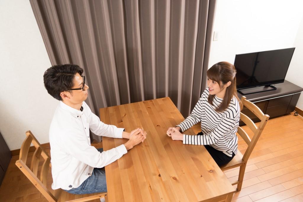 夫婦での話し合い
