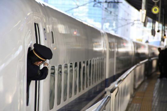 新幹線の車掌