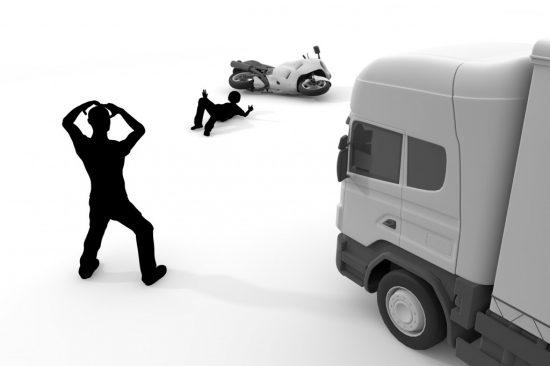 対人の交通事故