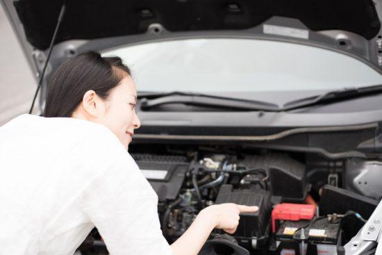 車の点検整備