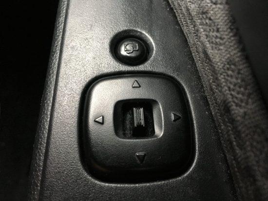 ミラーのボタン