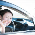 自動車と女性