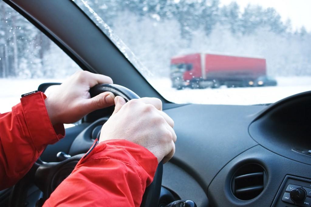 雪道での運転