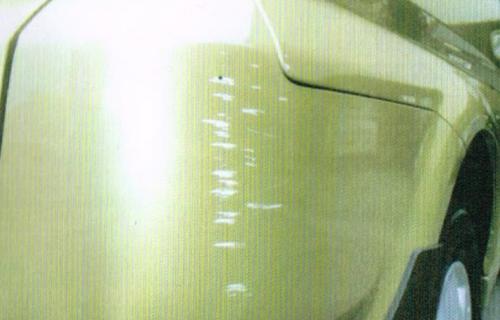 中古車査定の時に査定士が使う記号の意味