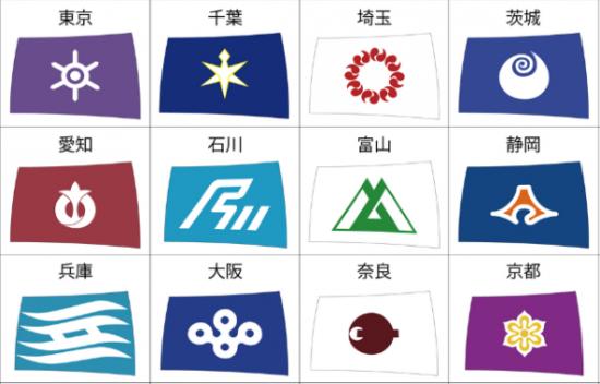 都道府県旗
