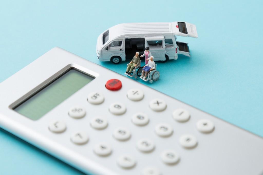 介護タクシーの収入