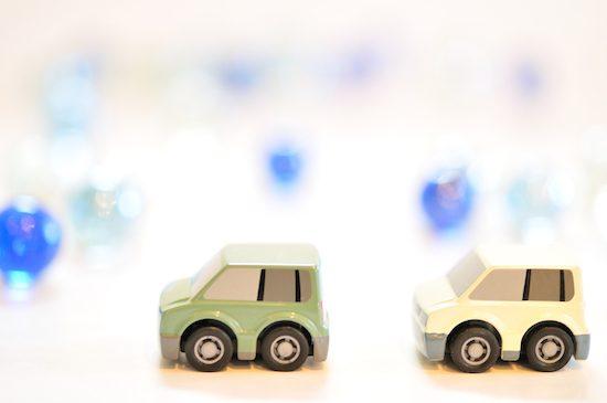 車の2台ある家族