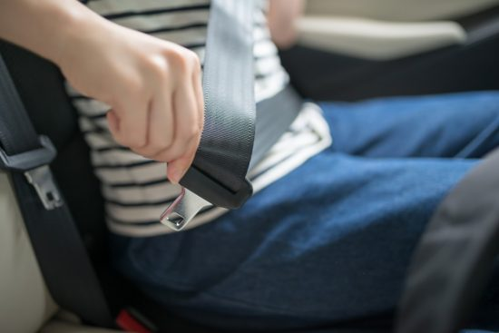 シートベルト装着