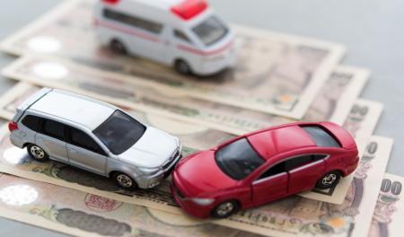 交通事故による減価