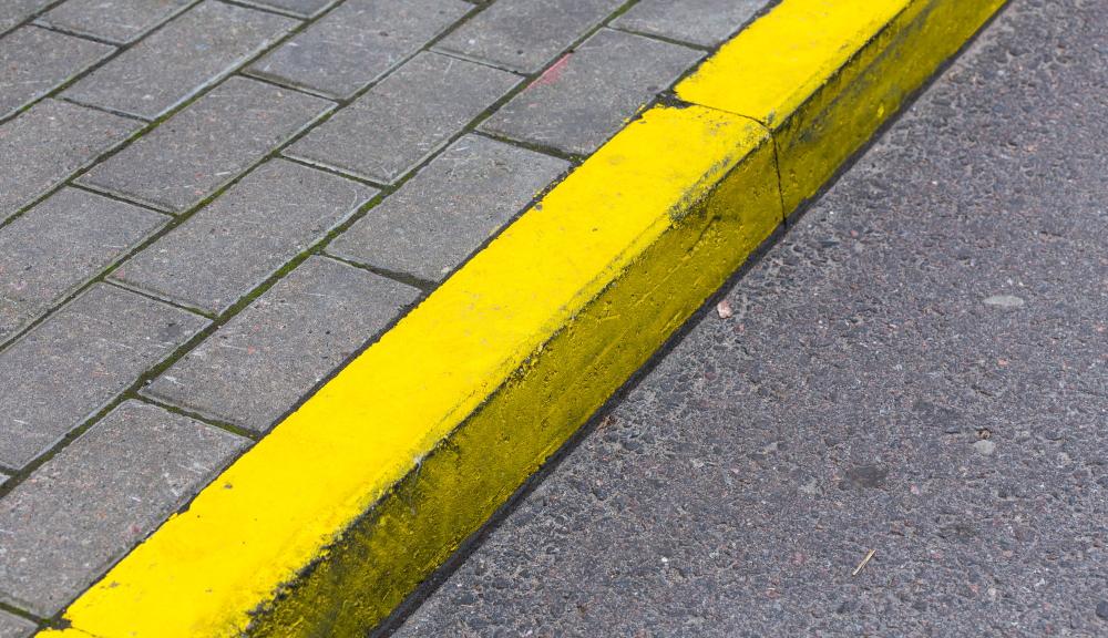 道路の縁石