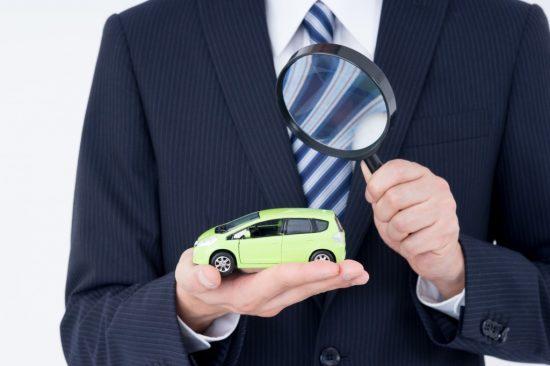 金融流れの車の査定