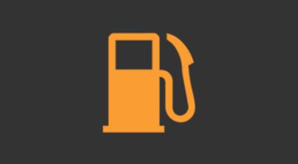 燃料残量警告灯