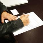 書類の書き方