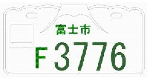 富士市のご当地ナンバー