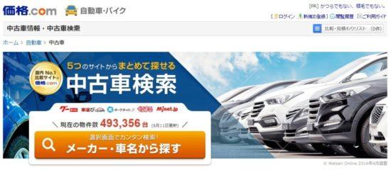 【補足】総額が安い中古車の探し方1