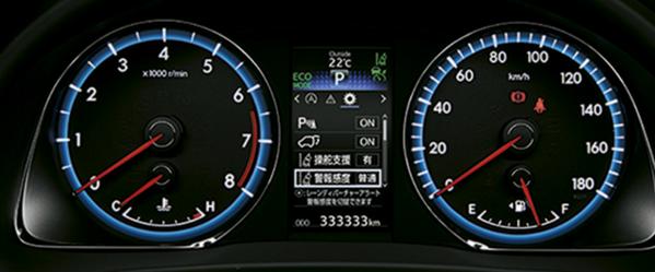 車の計器・警告灯の見方と意味
