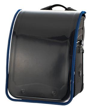 ふわりぃ ランドセル用 反射材入り透明ランドセルカバー 日本製 10-00922 ブルー