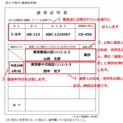 車の譲渡証明書を完全ガイド!ミスなく書く手順から紛失時の対処法まで解説