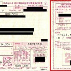 自動車税納税証明書を紛失した場合の再発行手続きや手数料のまとめ